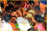 Malleswaram vilakku - a worship of Sivarathri Images